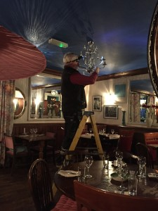 chandelier fitting